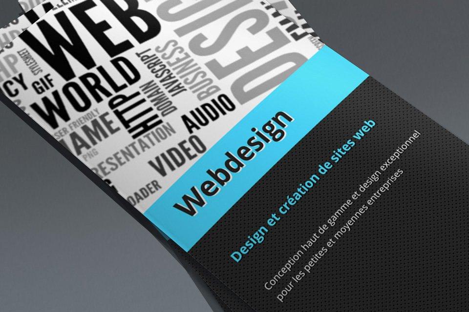 Brochure Webdesign