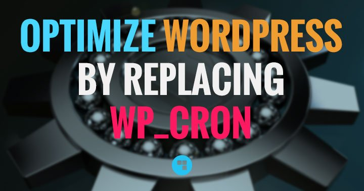 Optimize WordPress: replace wp_cron with a real CRON job